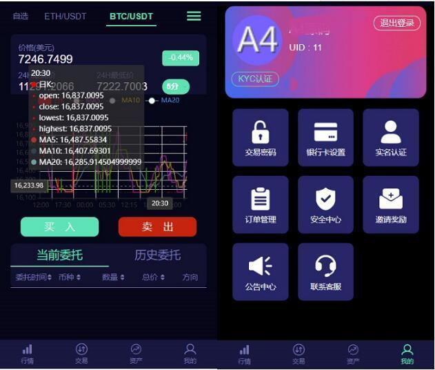 最新leo数值资产系统某平台2021新c2c币数值合约交易平台自动匹配松机器人功能插图3