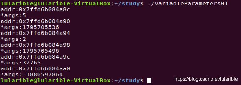 C语言微变参涵数传参研究插图1
