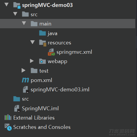 【SpringMVC】SpringMVC构筑框架插图5