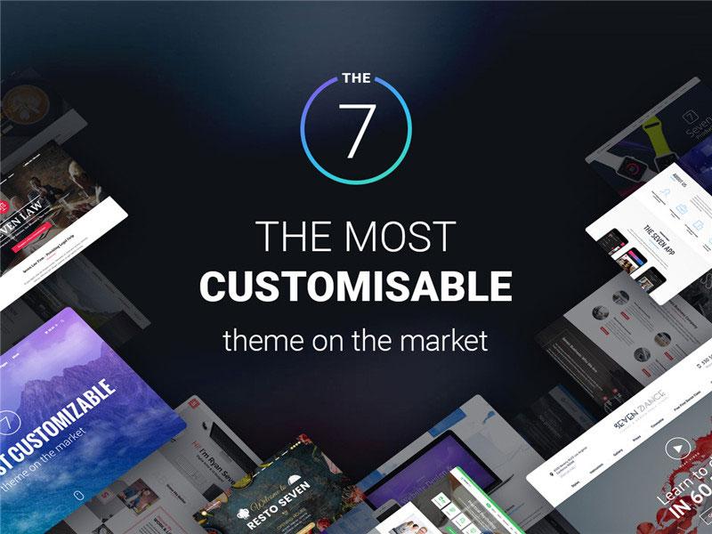 WordPress强劲多用途主题风格模版The7v9.16.0