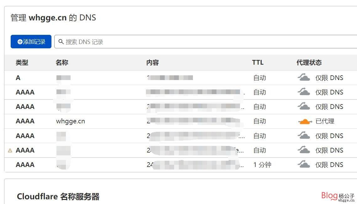 将家用宽带动态双IP分析到顶级域名备案,应用CF教程插图9