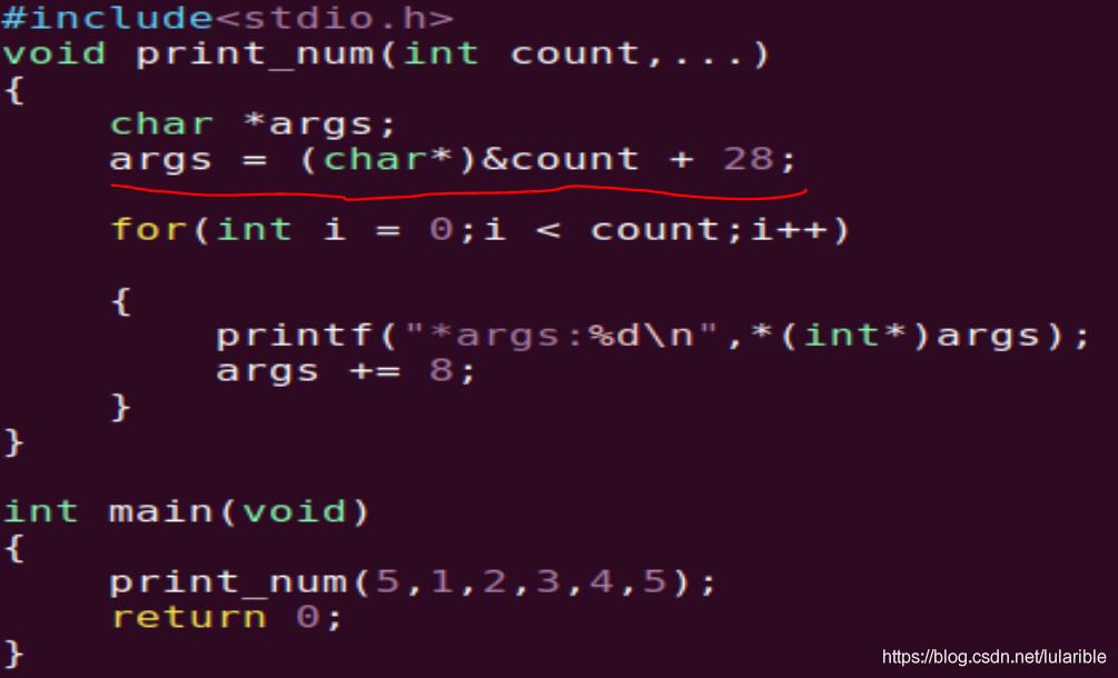 C语言微变参涵数传参研究插图5